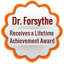 Dr. Forsythe Receives Award